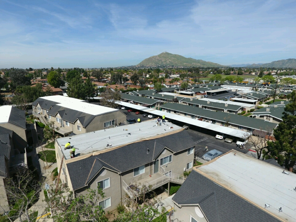 Commercial Spray Foam Roofing Photos