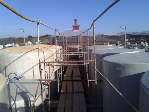 3. wine tanks maintenance