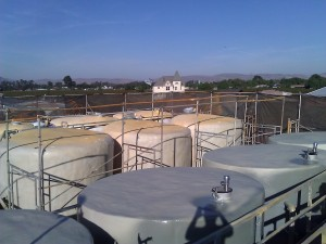 5. wine tanks maintenance