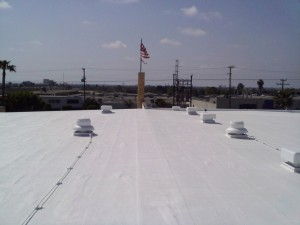 Hulsey Contracting Inc Spray Foam Roofing  Process 001