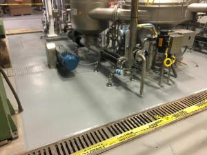 URETHANE FLOORING INSTALL IN CENTRAL VALLEY WINERY-July2017
